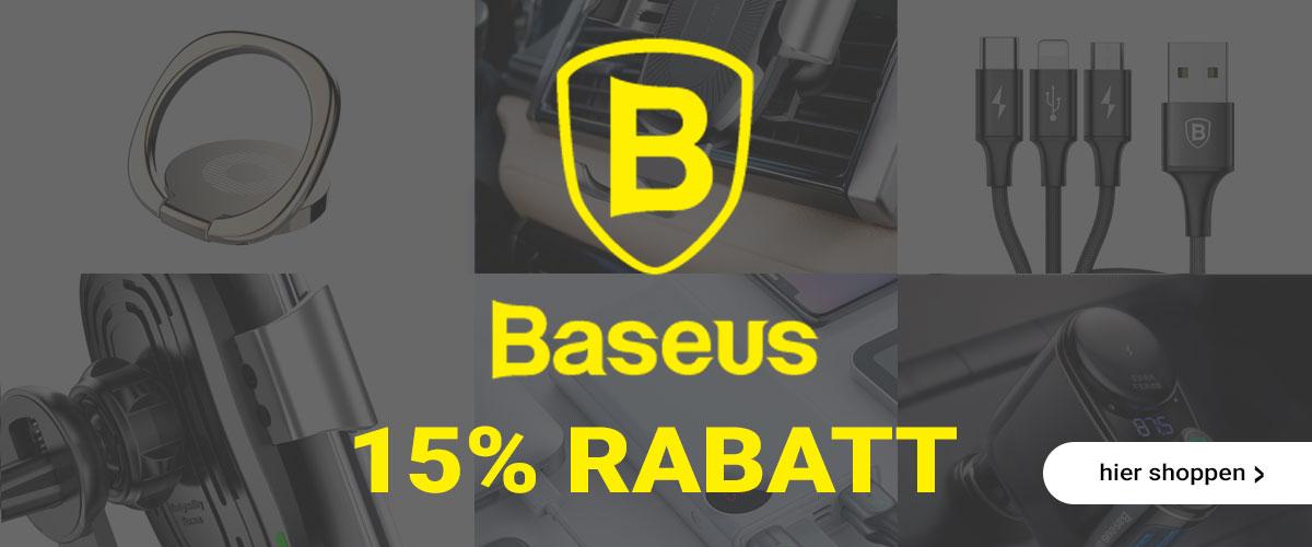 15% Rabatt auf Deinen Produkt von Baseus. Jetzt online kaufen