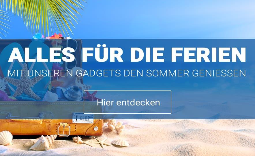 Entdecke praktische Gadgets für die Ferien
