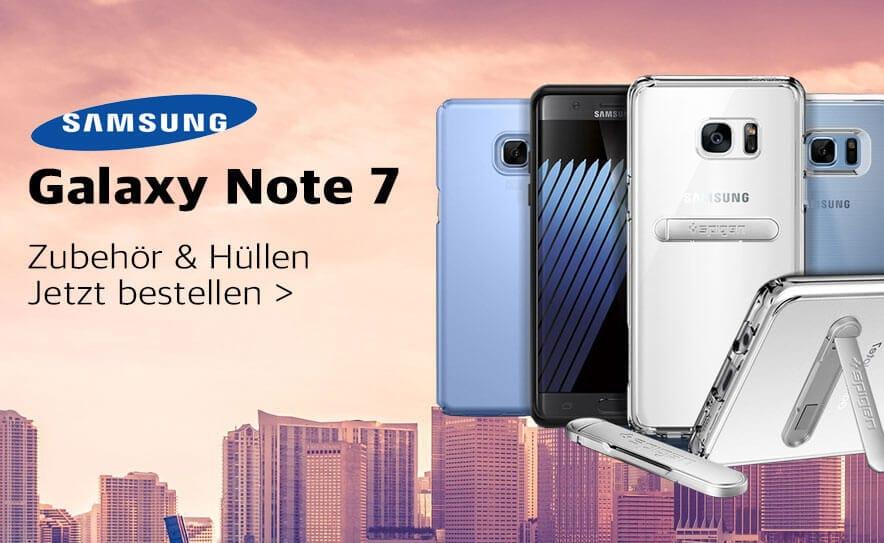 Galaxy Note 7 Zubehör