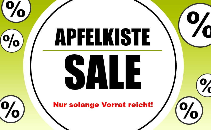Apfelkiste Sale