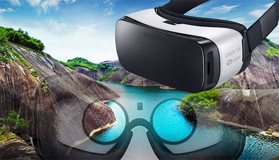 Samsung Virtual Reality Brille