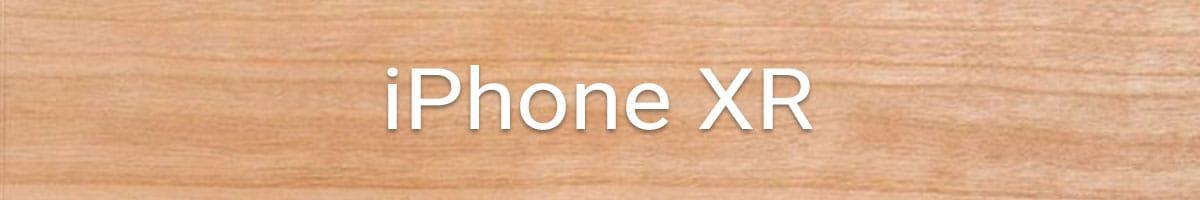 iPhone XR Holzhülle bestellen