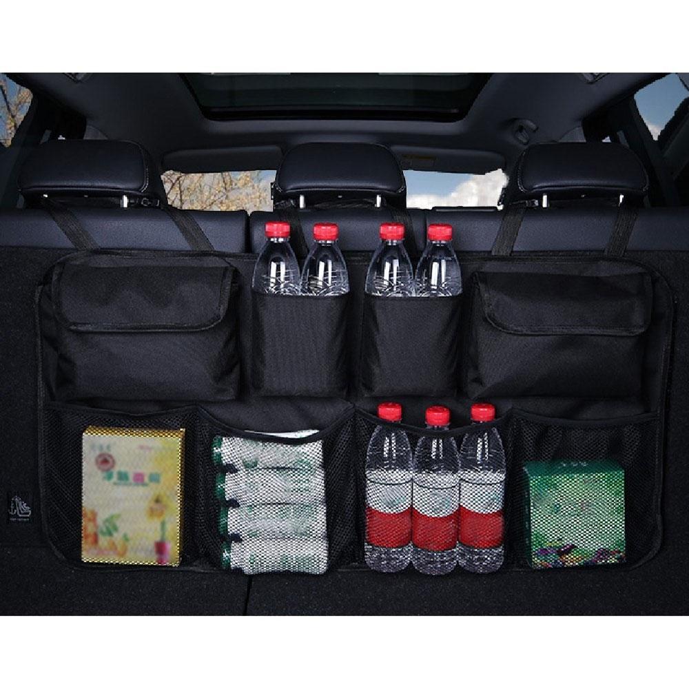 Auto Aufbewahrungstasche Auto-Netztaschen 20cm x 8cm Sitz h/ängende Speicher-Mesh-Beutel-Speicher-Schnur-Beutel mit Klebstoff geeignet for die meisten Autos