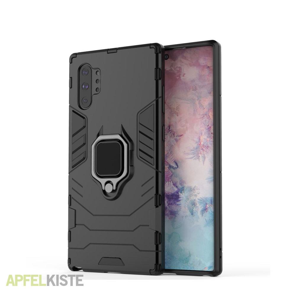 Galaxy Note 10 Plus Hybrid Hardcase Kickstand Schwarz