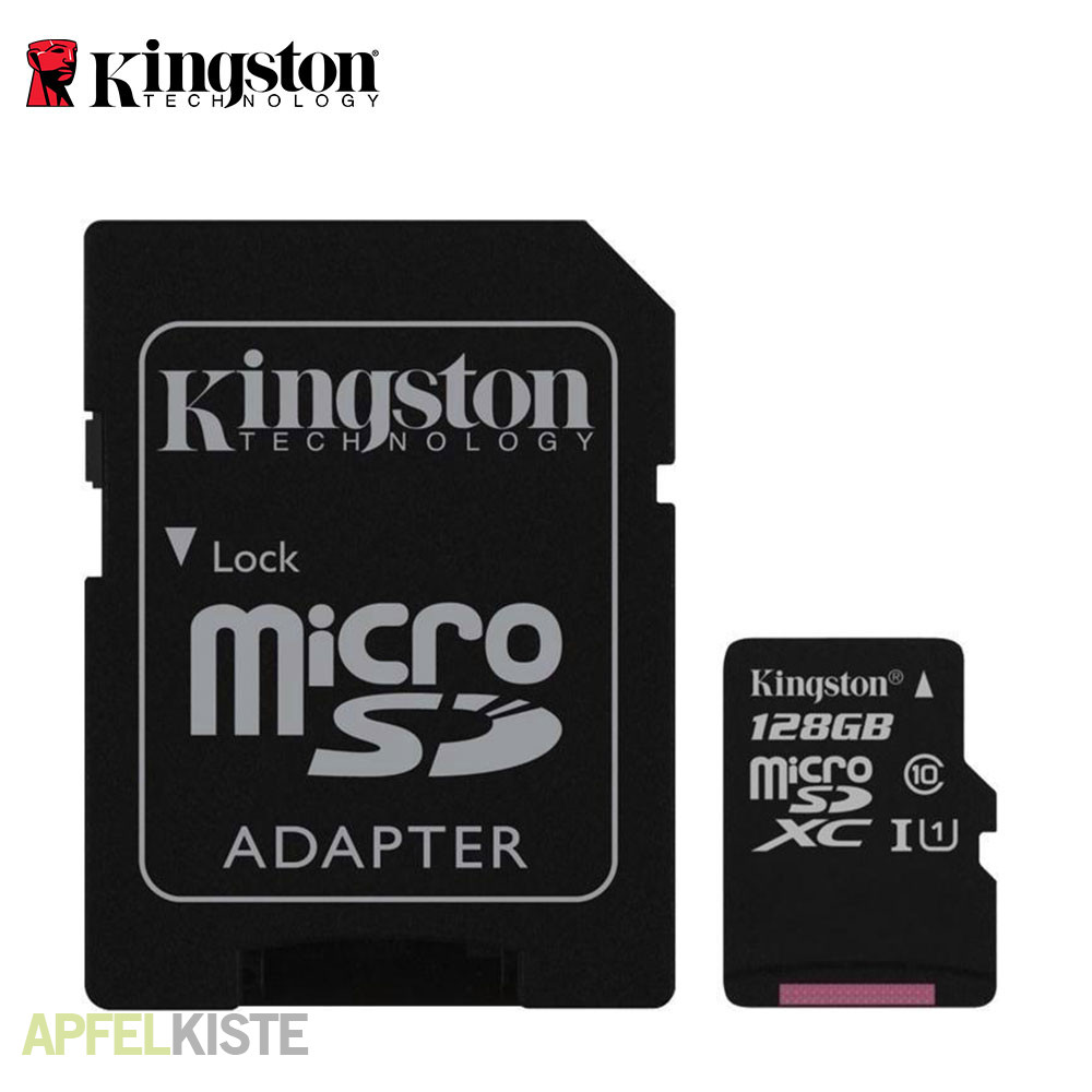 128gb Sd Karte.Kingston 128gb Micro Sdxc Transflash Karte Sd Adapter Class 10
