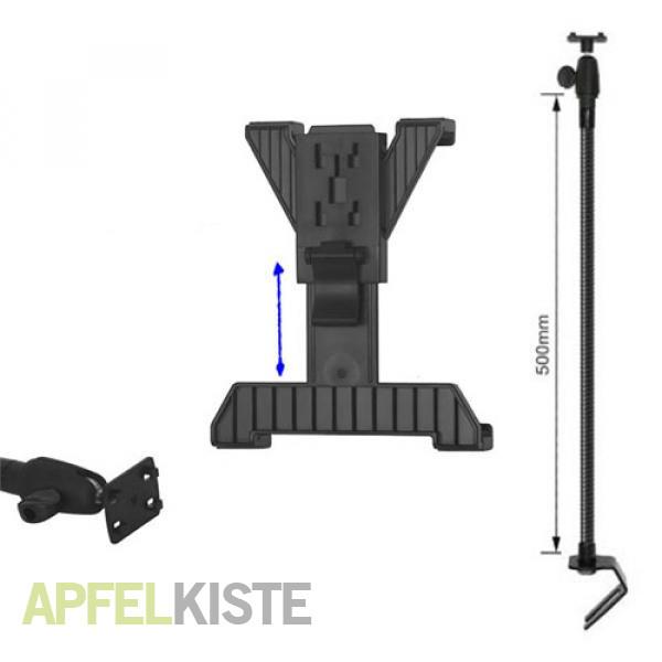 metall kfz auto halterung ipad tablets schwarz. Black Bedroom Furniture Sets. Home Design Ideas