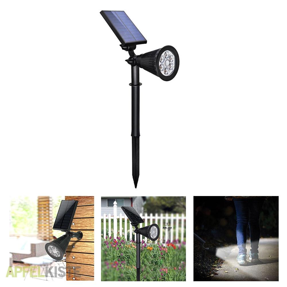 Top LED Solar Outdoor Gartenleuchte Motion Sensor RY29