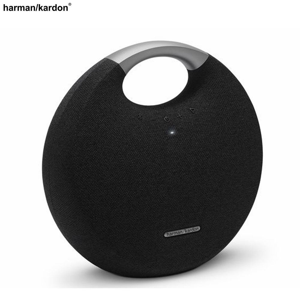 Image of Harman/Kardon - Onyx Studio 5 Tragbarer Outdoor Bluetooth Lautsprecher Musikbox (HK0S5BLKEP) - Schwarz