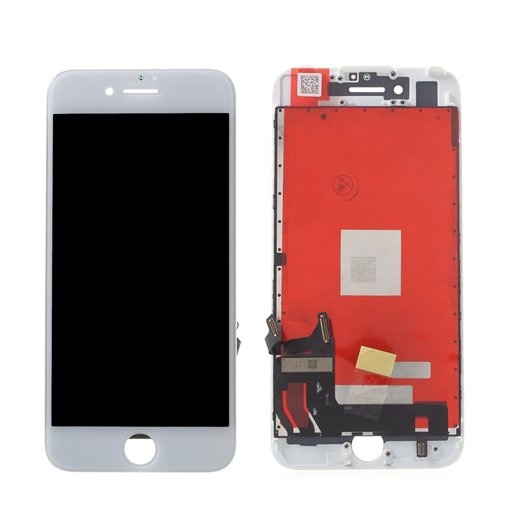 (OEM) iPhone 7 Ersatzdisplay (Digitizer, LCD, Rahmen) - Weiss