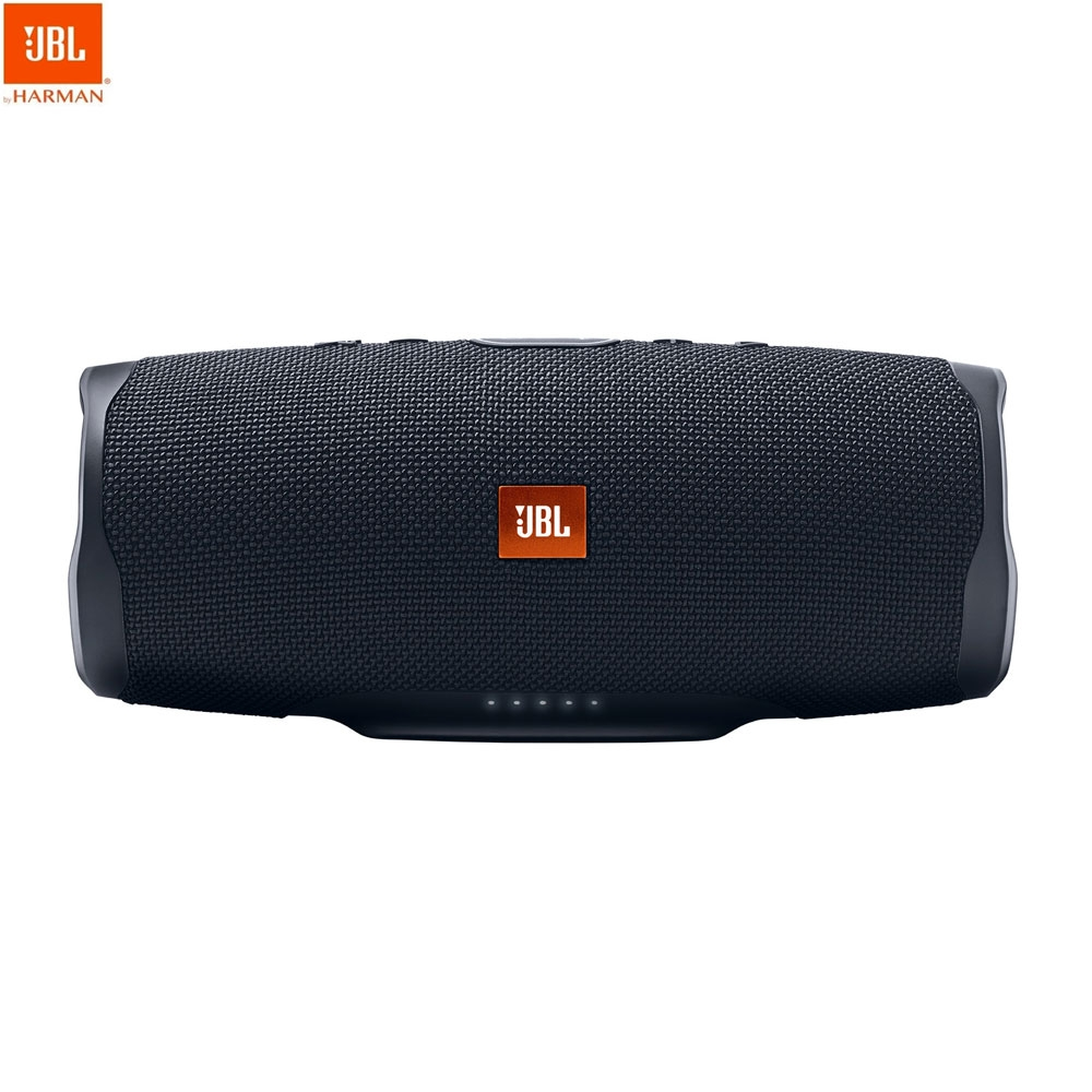 Image of JBL - Charge 4 Wireless Stereo Bluetooth Lautsprecher IPX7 Wasserfest (JBL-CHARGE4BLK) - Schwarz