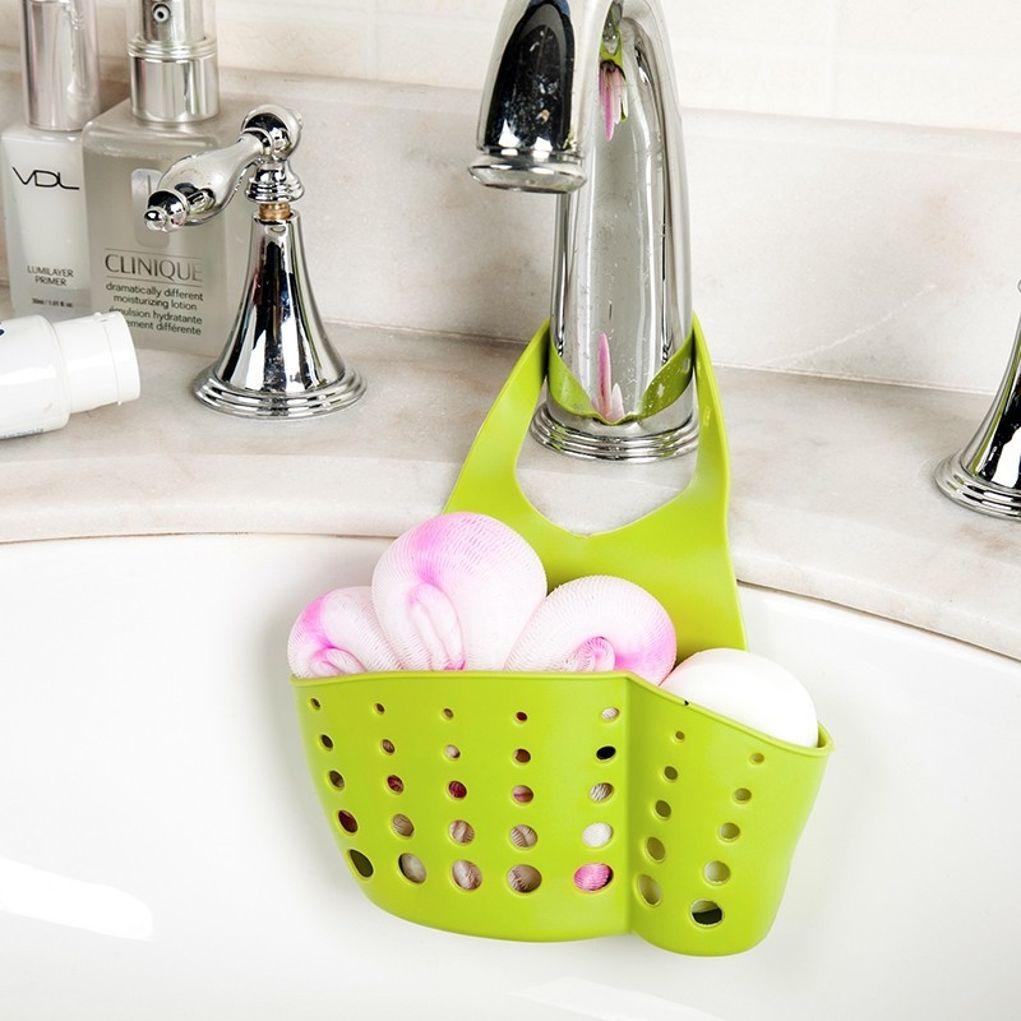 Waschbecken Schwamm Seifenhalterung Kuche Grun