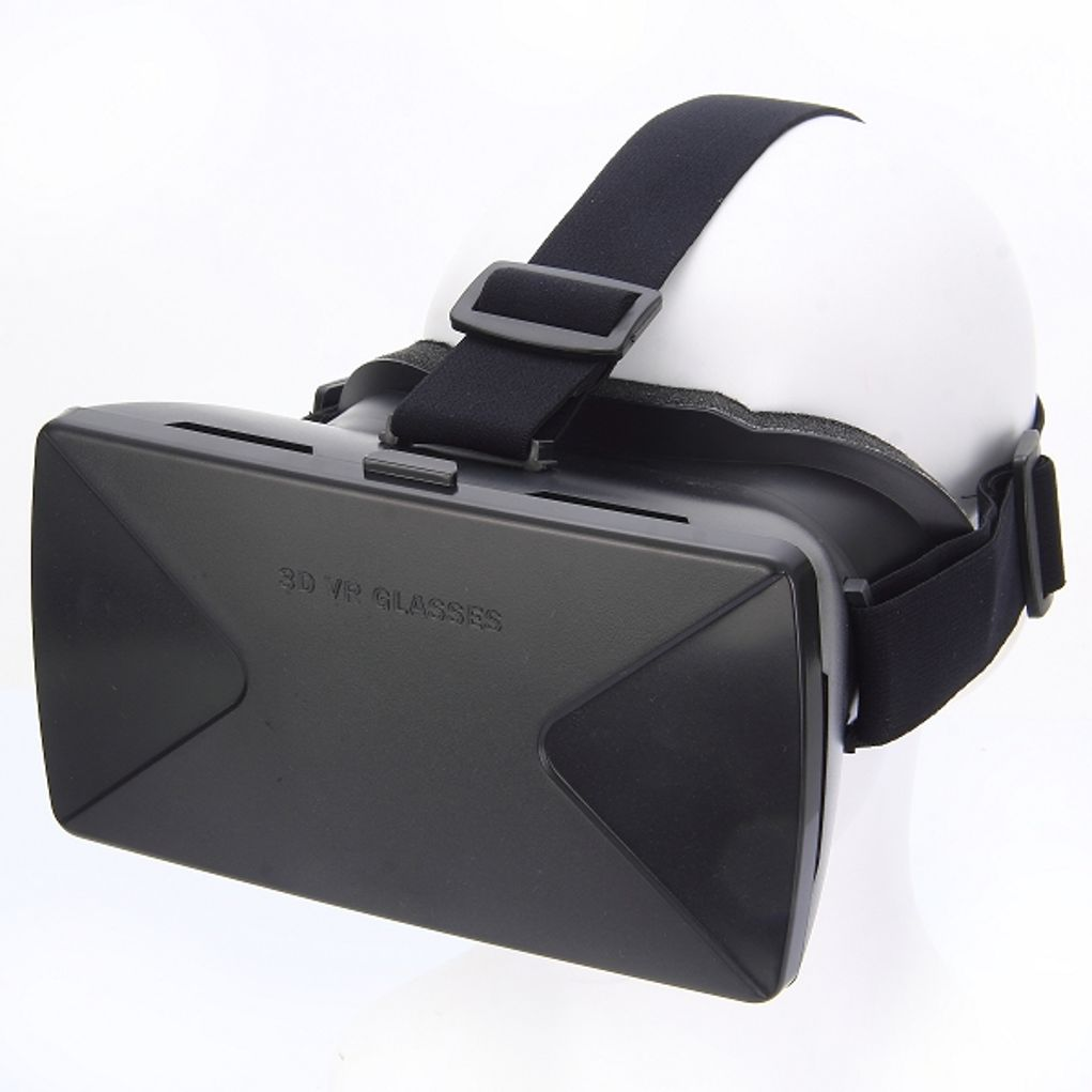 Virtual Reality 3d Video Vr Brille Schwarz